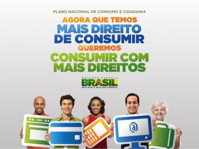 """Você conhece o """"Plano Nacional Consumo e Cidadania""""?"""
