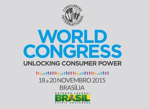 COMUNICADO: ABRAREC é convidada para o 20º Congresso Mundial da Consumers International