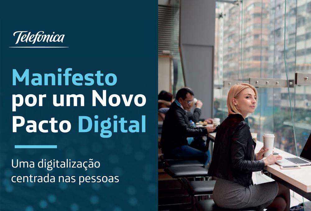 Vivo lança no Brasil manifesto por um Novo Pacto Digital